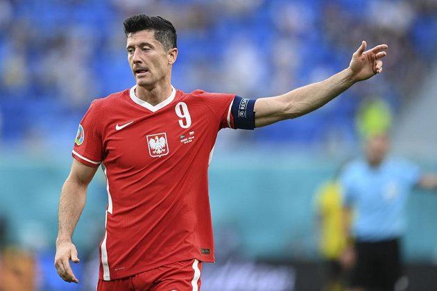 Polský fotbalista Robert Lewandowski vstřelil na EURO gól do sítě Švédů.