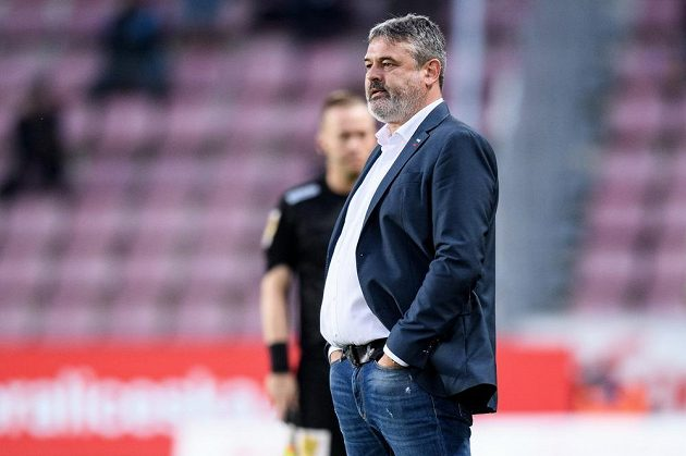 Zastupující trenér Sigmy Olomouc Ladislav Minář.