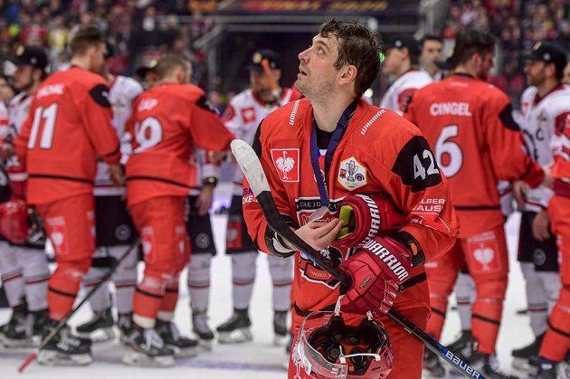 Petr Koukal z Hradce Králové po prohraném zápase.