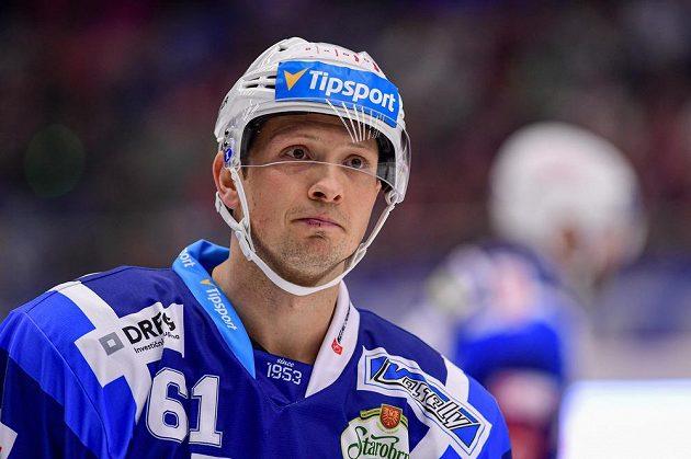 Hokejista Komety Brno Daniel Rákos.