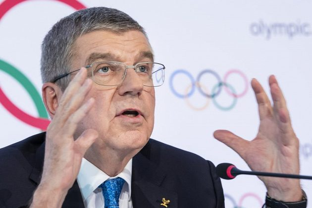 Šéf MOV Thomas Bach.