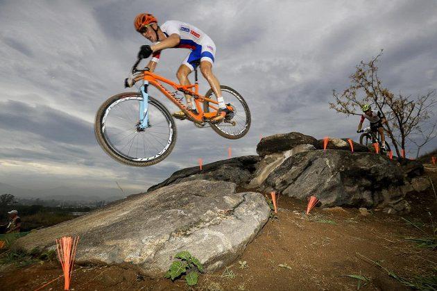 Jaroslav Kulhavý si na trati horských kol dojel v Riu pro stříbro.