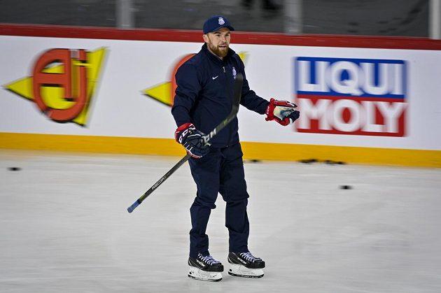 Hlavní trenér hokejové reprezentace Filip Pešán.