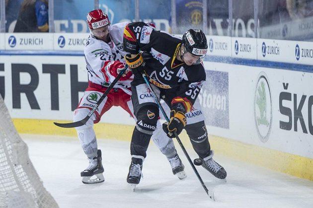 Martin Růžička (vlevo) a Lasse Lappalainen z Kuopia.