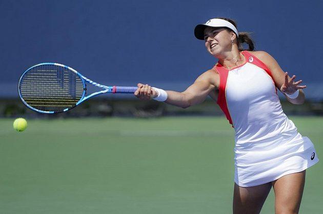 Rebecca Petersonová předváděla v Cincinnati výborný tenis