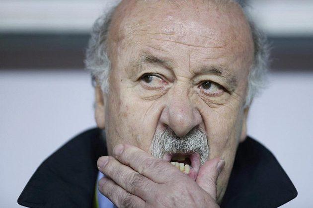 Španělský trenér Vicente del Bosque nemohl být s výkonem svých svěřenců v Kluži spokojený.