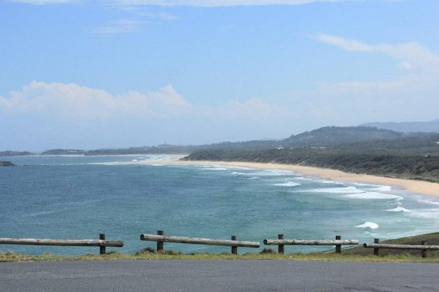 Australské pláže