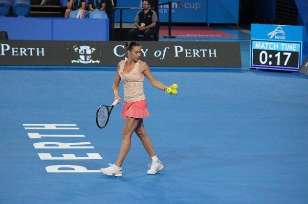 Italská tenistka Flavia Pennettaová