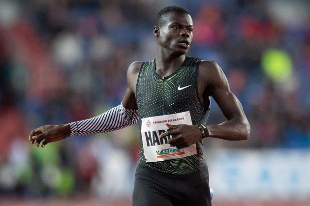Katařan Abdalelleh Harún vyhrál závod na 400 m.