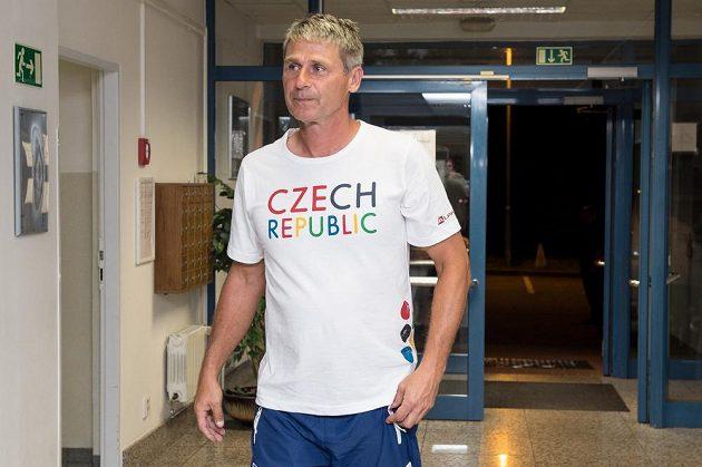 Trenér Jan Železný před cestou na olympiádu do Ria.