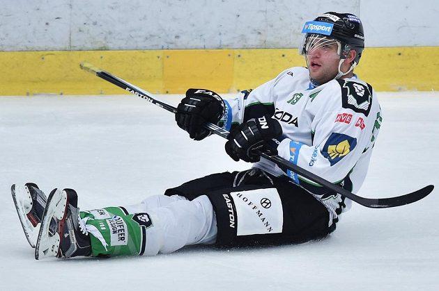 Autor třetího gólu Marek Trončinský z Boleslavi se raduje.