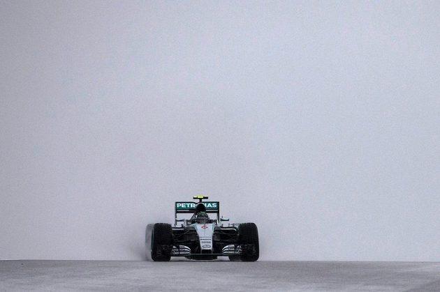 Němec Nico Rosberg (na snímku) vyhrál nedělní kvalifikaci na Velkou cenu USA formule 1, která byla kvůli nepřízni počasí předčasně ukončena.