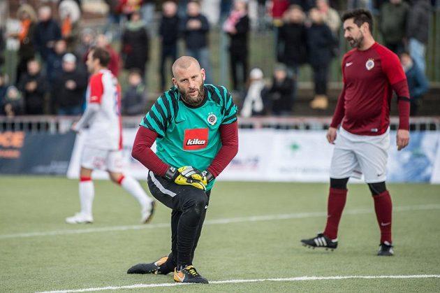 David Bičík během Silvestrovského derby internacionálu.