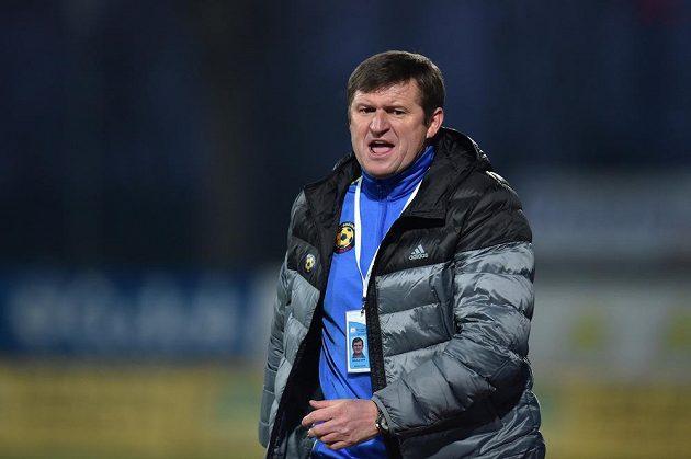 Trenér Jihlavy Michal Hipp.