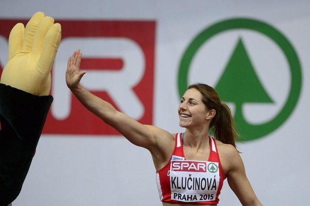 Česká pětibojařka Eliška Klučinová byla po úvodní disciplíně spokojená.