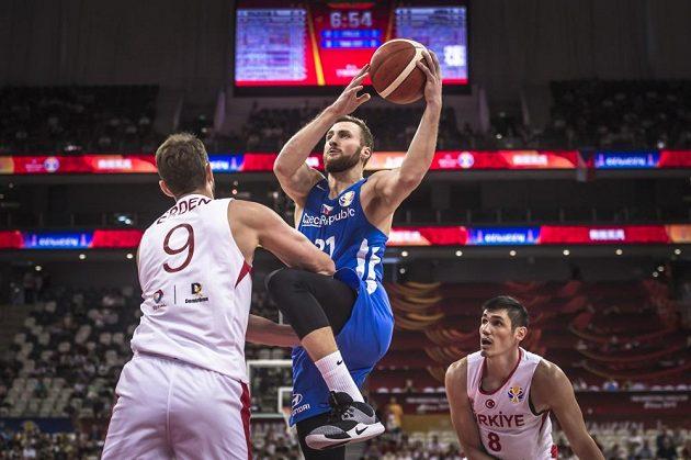 Čeští basketbalisté byli po většinu zápasu ve vedení