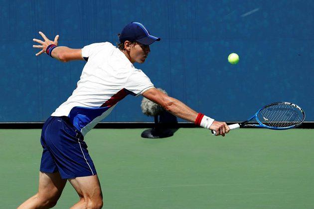 Tomáš Berdych v úvodním kole US Open.