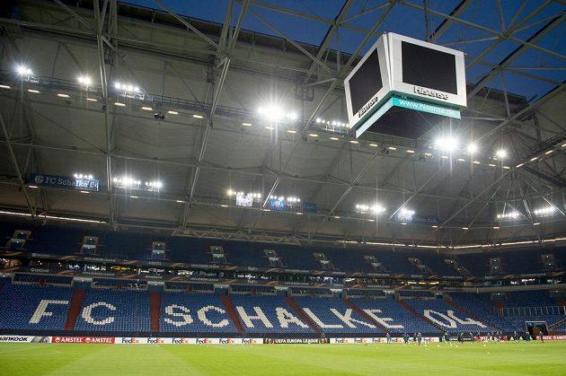 Veltins Arena v německém Gelsenkirchenu, kde hraje své zápasy Schalke 04.