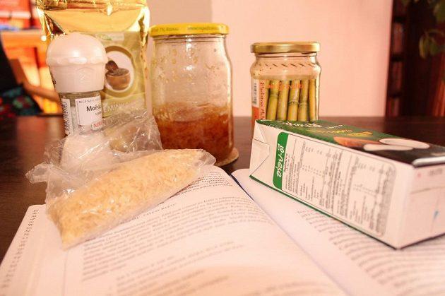 Coco Rizo na náš způsob. Všechny ingredience jsou zdravé, musí být zdravý i závěrečný výtvor.