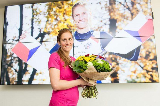 Skifařka Mirka Topinková je těhotná.