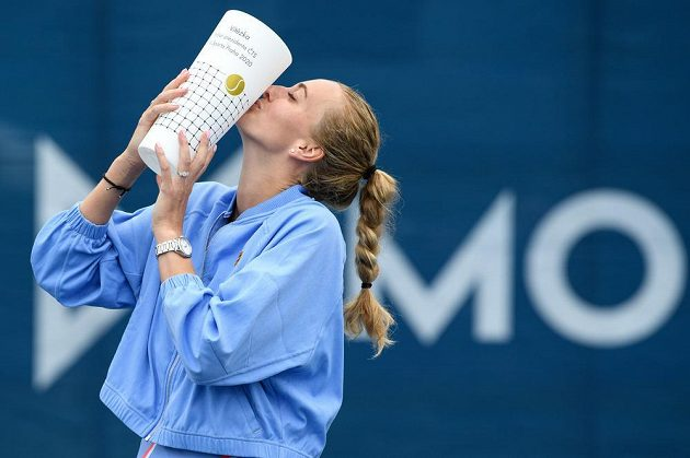 Petra Kvitová vyhrála ženskou část tenisového turnaje O pohár prezidenta ČTS