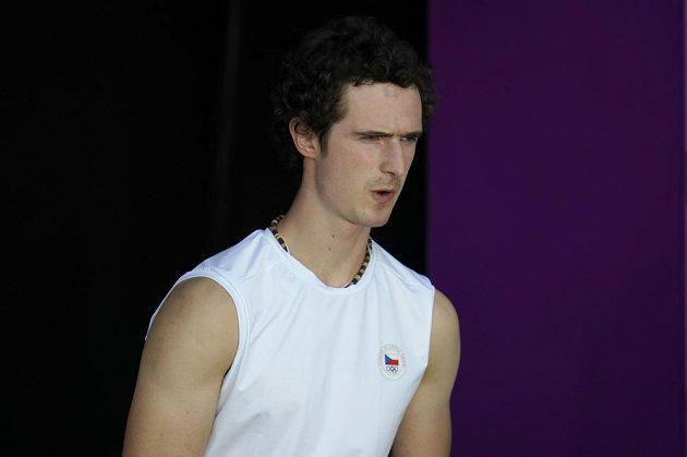 Adam Ondra v úvodu olympijské kvalifikace.