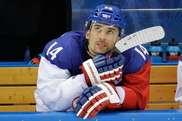 Zklamaný kapitán národního týmu Tomáš Plekanec.
