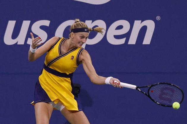 Petra Kvitová vstoupila do US Open parádně.