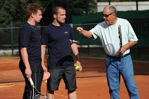 Uznávaný trenér Nick Bollettieri navštívil Prahu.