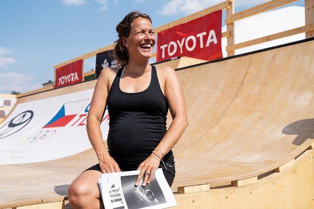 Barbora Strýcová na Olympijském festivalu v Praze.