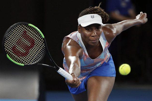 Přes všechnu snahu Venus Williamsová na Australian Open končí překvapivě hned v 1. kole.