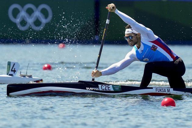 Český kanoista Martin Fuksa postoupil z rozjížděk na 1000 metrů přímo do semifinále olympijského závodu.