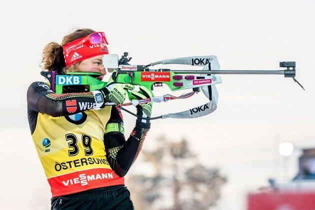Laura Dahlmeierová v akci.