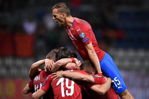 Češi skórovali proti Černé Hoře a radují se.