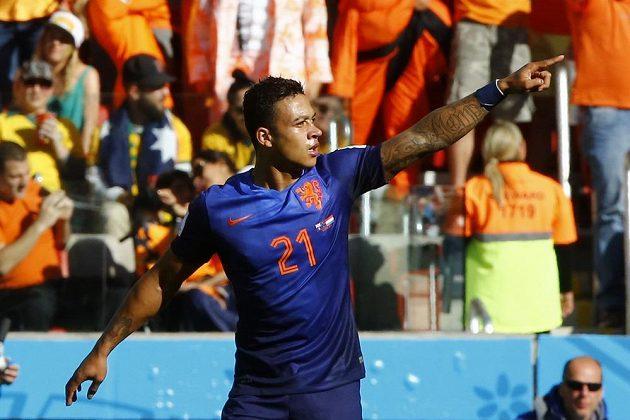 O vítězství Nizozemců nad Austrálií rozhodl střídající Memphis Depay.