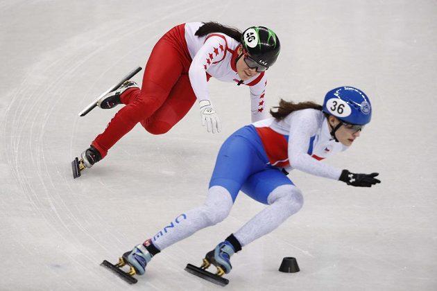 Česká rychlobruslařka na krátké dráze Michaela Sejpalová obsadila v Kangnungu v rozjížďce na 1500 metrů čtvrté místo a do semifinále nepostoupila.