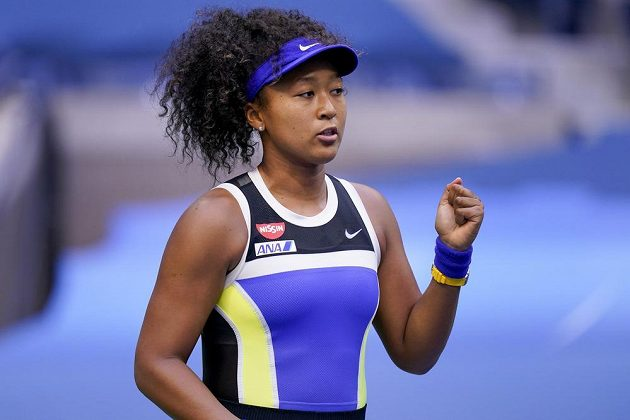 Japonská tenistka Naomi Ósakaová ve finále US Open.