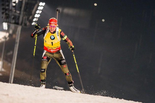 Laura Dahlmeierová byla suverénní i ve stíhacím závodě.