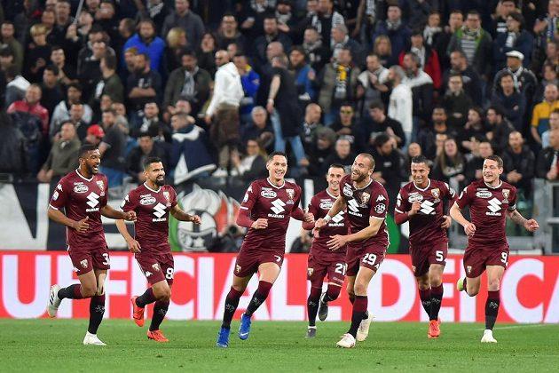 Fotbalisté FC Turín vedli v derby nad Juventusem, nakonec ale zápas skončil 1:1.