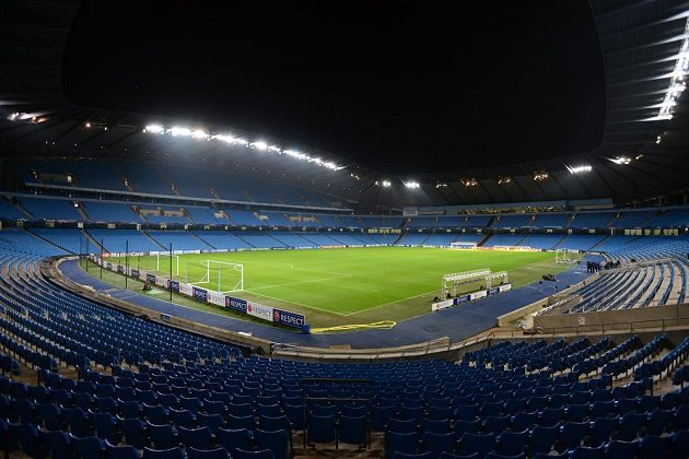 Etihad Stadium, stánek Manchesteru City