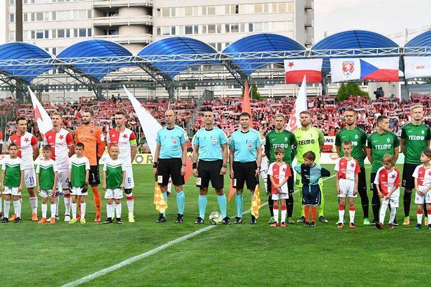Finalisté Slavia a Jablonec nastupují...