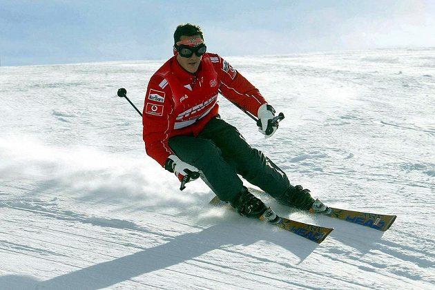 Michal Schumacher utrpěl těžké zranění před třemi týdny.