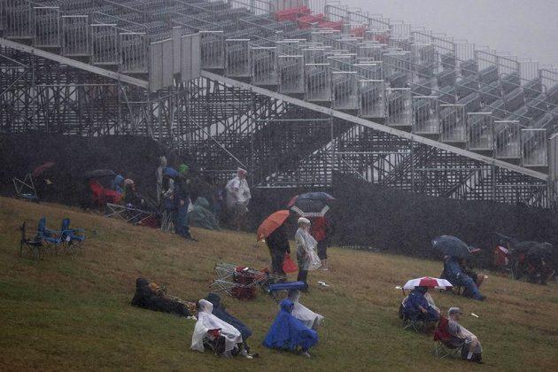 Kvůli dešti byl zrušen druhý trénink na GP USA formule 1.
