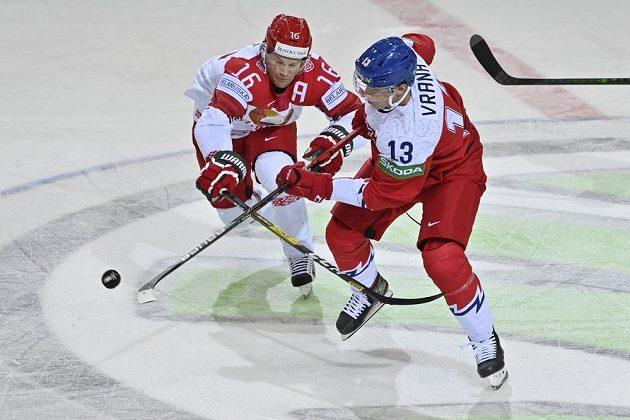 Zleva Geoff Platt z Běloruska a Jakub Vrána.
