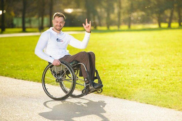 Zbyně Sýkora: Live is life - i na vozíku!
