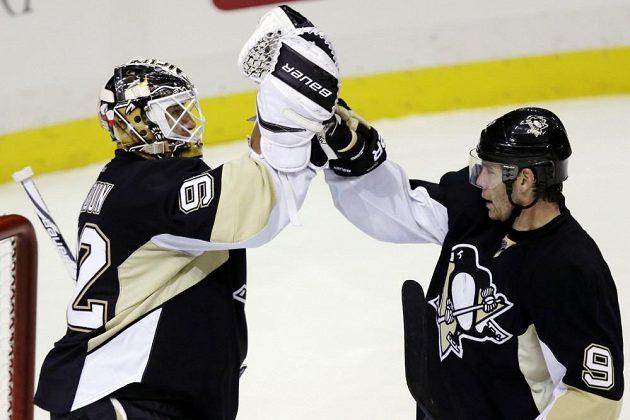 Brankář Tomáš Vokoun vychytal své jubilejní 50. čisté konto v NHL.