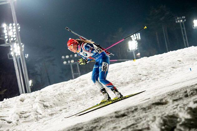 Nejlepší z českých biatlonistek byla ve sprintu SP v Pchjongčchangu Eva Puskarčíková. Skončila na 16. místě.
