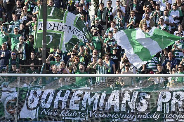 Fanoušci Bohemians.