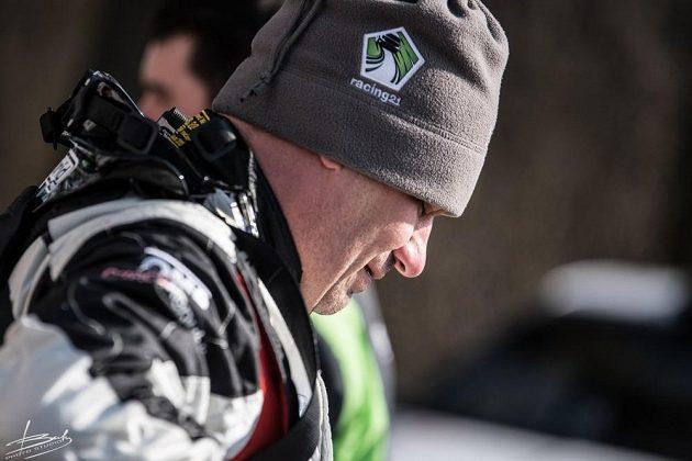 Vojtěch Štajf z týmu Racing21 během testování před sezónou.