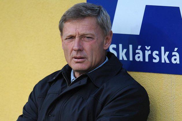Trenér Teplic Zdeněk Ščasný